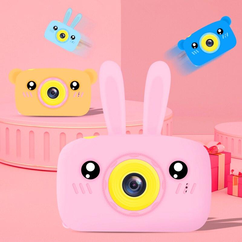 Mini Children Kids Camera Full HD 1080P Digital Portable Video Photo Camera Child Educational Toys For Game Study Gift Birthday