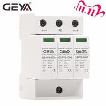 Free Shipping GEYA PV SPD 2P 3P 600V 1000V DC Surge Protector SPD DC 500V