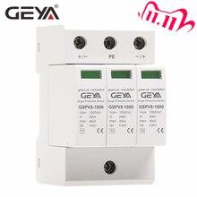 شحن مجاني GEYA PV SPD 2P 3P 600 فولت 1000 فولت تيار مستمر عرام حامي SPD تيار مستمر 500 فولت