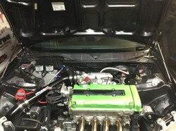 Передняя капота, газовая стойка, амортизатор с амортизатором, углеродное волокно для Honda Civic EK9 1996-2000