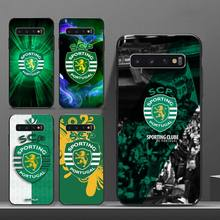 design Sporting Portugal Phone Case For Samsung A50 A51 A71 A20E A20S S10 S20 S21 S30 Plus ultra 5G M11 funda shell