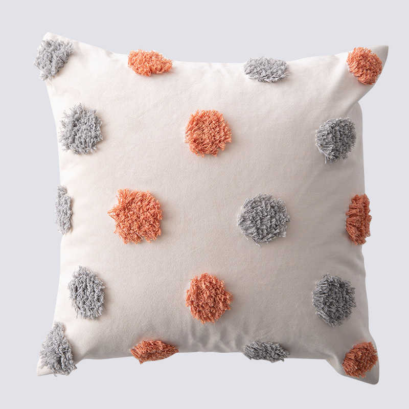 decorative cushion cover home decor pillow case bed room beige pillowcases pillows car seat decoration sofa throw pillow covers