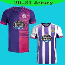2020 2021 Real Valladolid soccer jersey 20 21 FEDE S. R. Alcaraz oo Sergi Guardiola Oscar