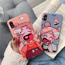 Japan Cute Cartoon Sailor Moon Cover Case For coque iPhone X XS Max XR 7 7Plus 8 6s 6 Plus funny phone cases Silicon soft covers