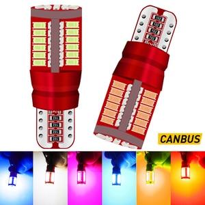 2X T10 W5W светодиодный габаритный светильник лампы для чтения автомобилей светильник Подсветка салона светильник s для Honda Civic Accord Crv Fit Джаз гор...