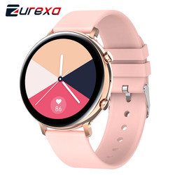 Zurexa GW33 Смарт-часы для женщин и мужчин Bluetooth Вызов Спорт Фитнес SmartWatch Ip68 Водонепроницаемые Смарт-часы Шагомер Android IOS