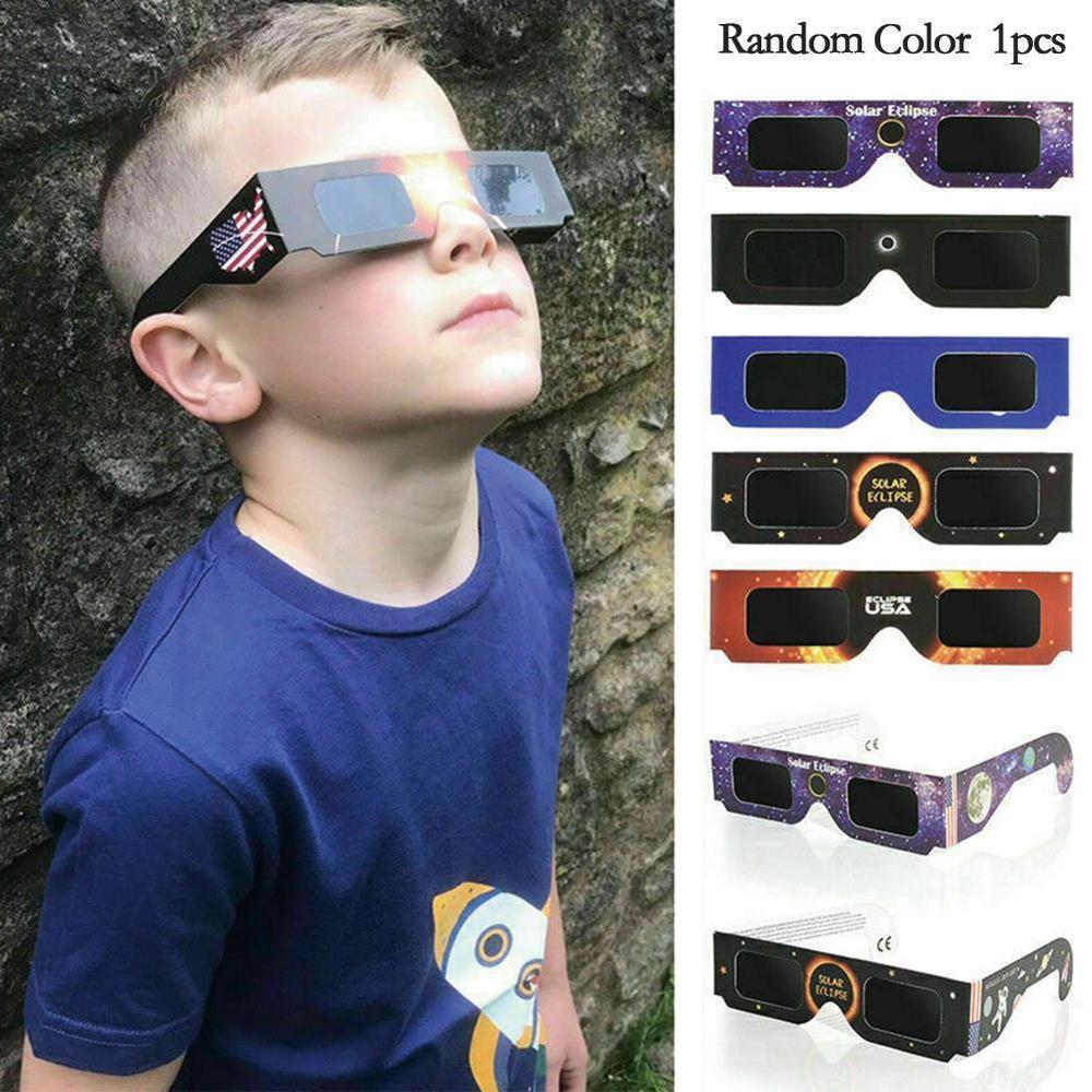 5PCs Observing Eclipse Eyes  Frame Paper Day Glasses Observation