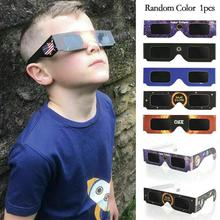 5PCs Observing Eclipse Eyes  Frame Paper Day Glasses Observation