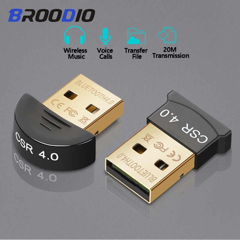 Беспроводной usb-приемник Bluetooth, передатчик Bluetooth 4,0, музыкальный Звуковой адаптер, Bluetooth аудио адаптер для компьютера, ноутбука
