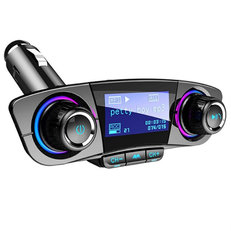 Car MP3 Player Car Bluetooth Receiver U Disk 12V24V Universal Aux Car Bluetooth Receiver