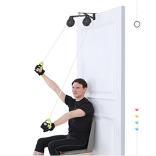 Upper limb rehabilitation pulley ring traction trainer stroke hemiplegia rehabilitation equipment hand shoulder neck training ma