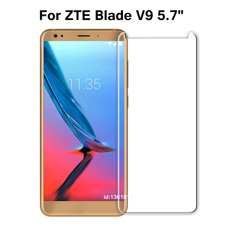ZTE Blade V9 Tempered Glass 9H High Quality Protective Film Screen Protector Phone Cover Glass For ZTE Blade V 9 5.7 inch