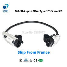 Car-Charging-Type Sae J1772 Electric-Vehicle 1-Adapter 2-Type Duosida 16a/32a