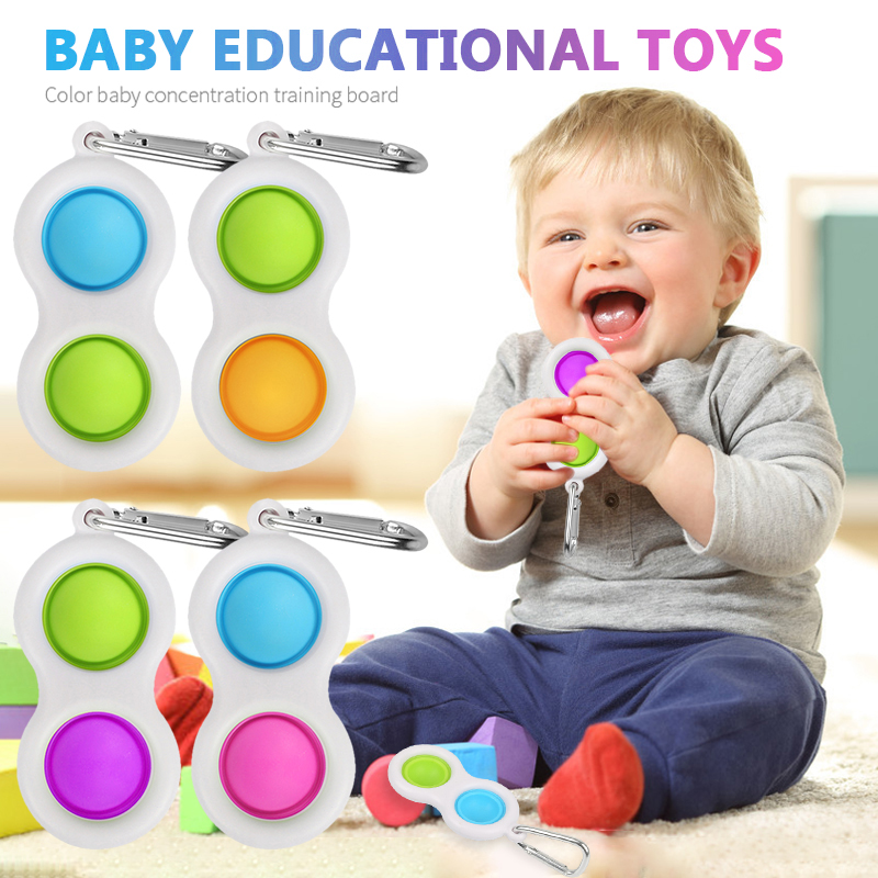 Relief-Toy Fidget Dimple-Stress Sensory Wholesale New for Kids Early-Educational-Toy img4