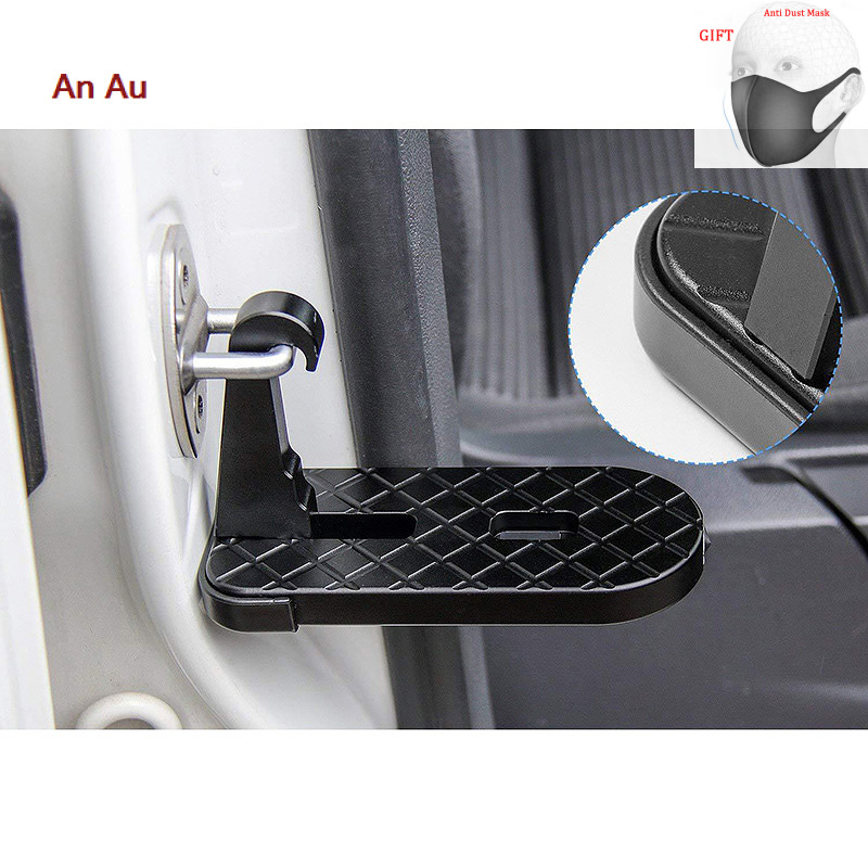 Car Pedal Rooftop Roof Rack Pedal Vehicle Assistance Easy Access The Door Step Hooked On Car Pedals Foot Pegs For Jeep Suv Truck