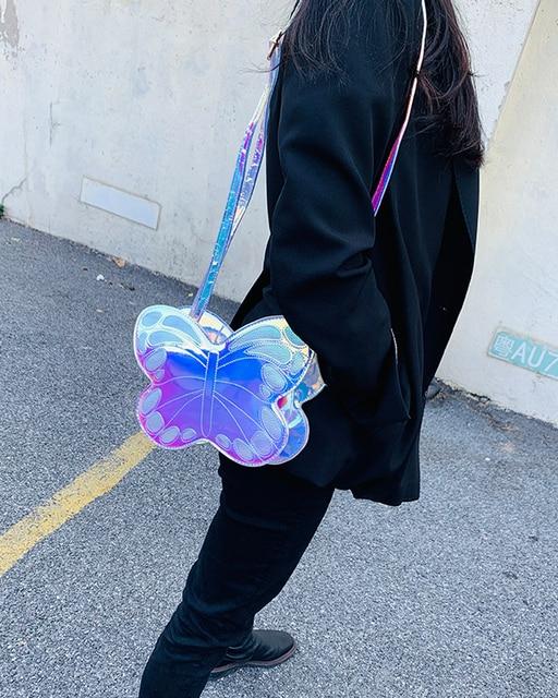 Sling Bag Kupu Kupu Hologram 3