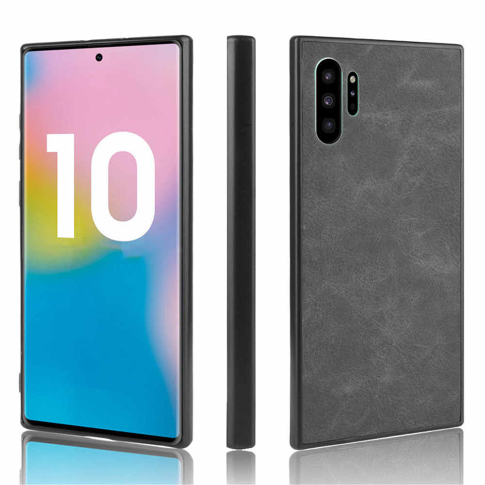 For Samsung Note 10 Case Samsung Note 10 Plus Pro PU Leather Hard Cover Case For Samsung Galaxy Note 10Plus Note10 Phone Case
