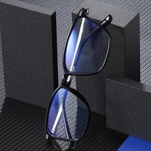 Image 4 - כחול אור חסימת משקפיים ברור מחשב משחקי עבודה אנטי כחול אור משקפיים נשים גברים משקפיים