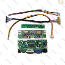 NT68676 LCD Driver controller Board Monitor Kit for MT190AW01 V.2 V2 Panel 1440X900 HDMI compatible+DVI+VGA+Audio