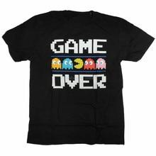 Pacman camiseta juego más de 100 clásico juego de Arcade Retro Namco para jóvenes de mediana edad el Elder camiseta