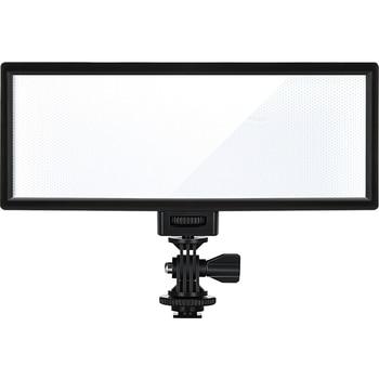 цена на Viltrox L132T LCD Bi-Color Dimmable Slim Portable Handheld DSLR Video LED Light for phone youtube show Live