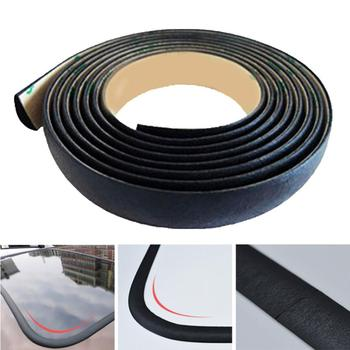 300cm Car Waterproof Rubber Sealing Strips Trim For Auto Car Front Rear Windshield Sunroof Triangular Window Edge Weatherstrip image
