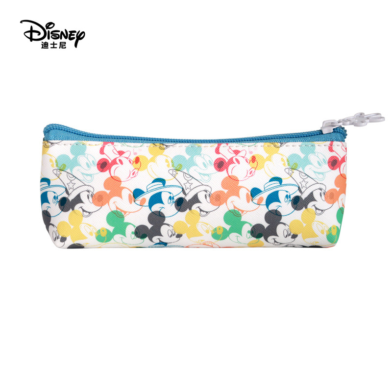Disney Practical Student Stationery Pencil Case Mickey Colorful Cute Pencil Bag Children's Day Gift School Supplies