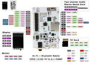 Image 3 - LILYGO®TTGO Tm Musik Alben 2,4 Zoll PCM5102A SD Karte ESP32 WiFi Und Bluetooth Modul