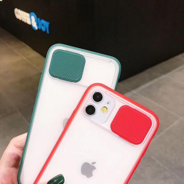 Camera Lens Matte transparent Protection Case For iPhone 12 MiNi 12 Pro Max 11 Pro 8 7 6 6s Plus Xr Xs Max X SE 2020 Soft Cover 3