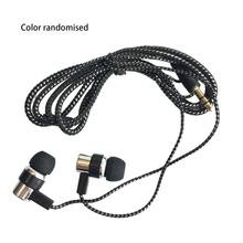 Kopfhörer Kabel Geflochtene Verdrahtung In-ohr Überzug Headset Linie K Song Handy Headset Mp3 Universal(China)