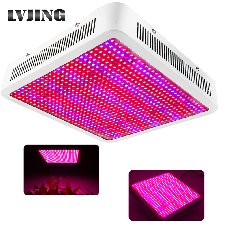 Full Spectrum 800W LED Grow Light UV+IR Leds Panel Phyto Lamps For Indoor Plants Hydroponics Vegetables Flower Seeding Grow Tent