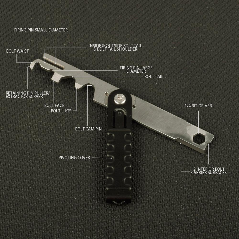 Ar15 raspador rifle raspador bcg ferramenta de remoção carbono. 223/5. 56 avar15s arma ar 15 AR-15 parafuso kit limpeza