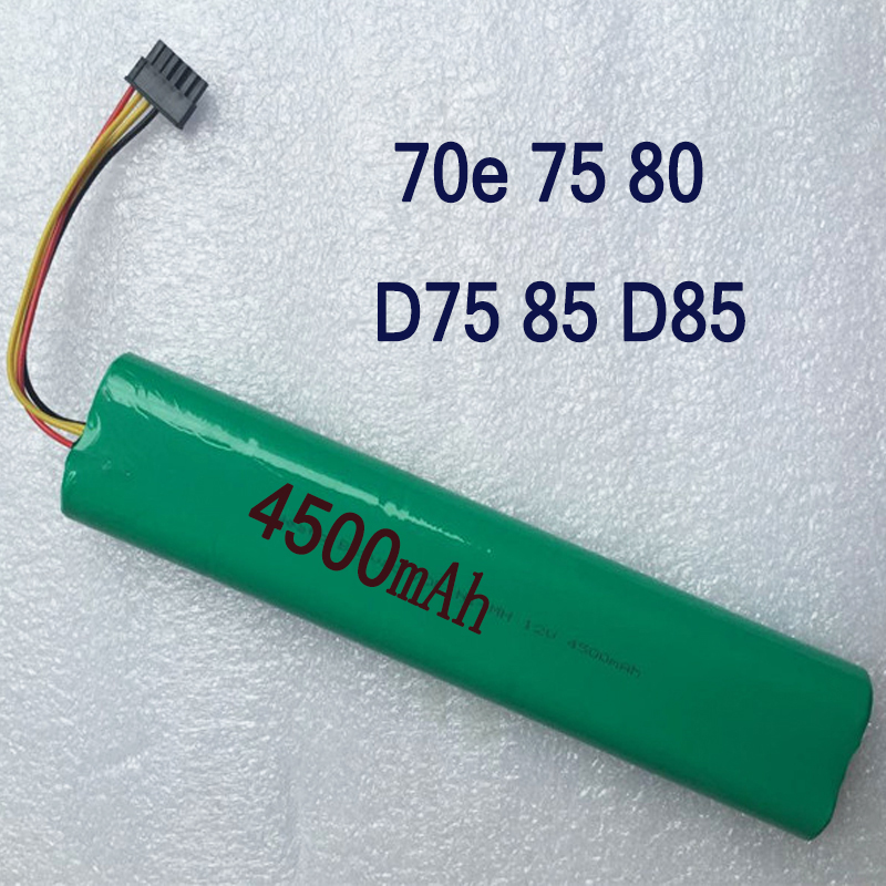 Newest <font><b>12V</b></font> 4500mAh <font><b>4.5Ah</b></font> NI-MH Replacement battery for Neato Botvac 70e 75 80 85 D75 D8 D85 Vacuum Cleaner battery Freeshipping image