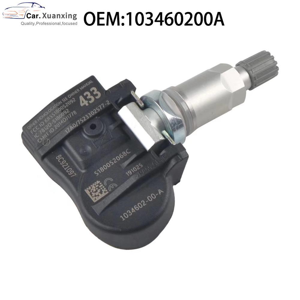 Tire Pressure Monitor Sensor For Tesla Model S Model X Model 3 103460200A OEM