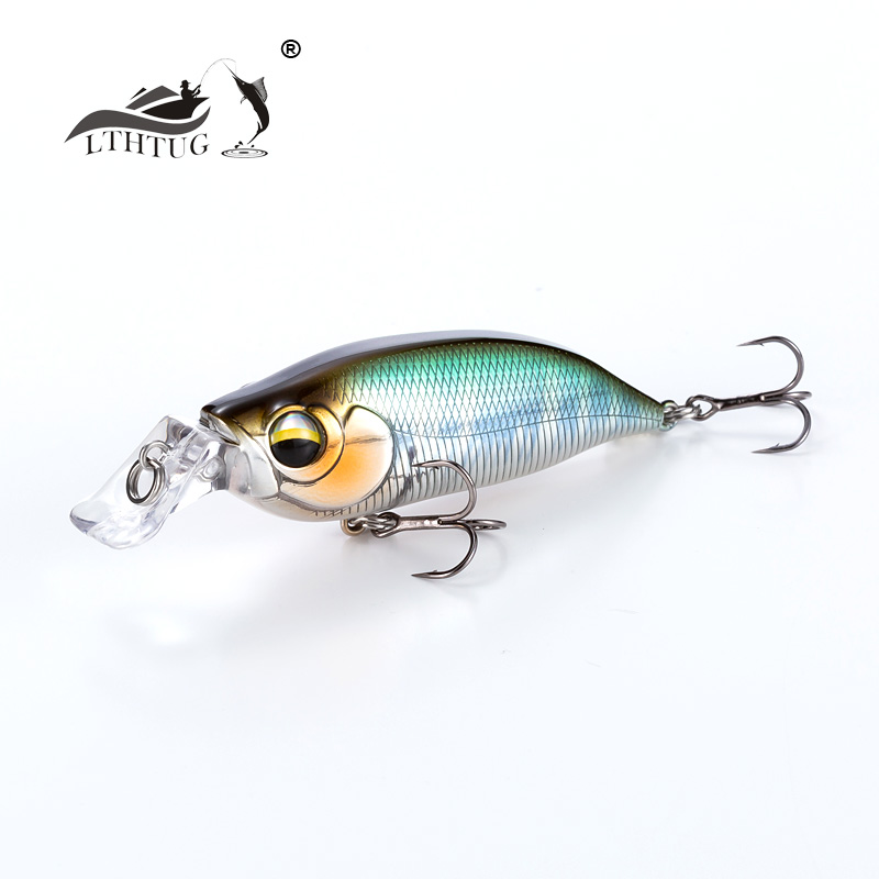 2019 New Arrival LTHTUG Artificial Bait Pesca Wobbler High Quality Fishing Lure Japanese Design Minnow 8g 57mm Floating Jerkbait For Bass Perch Pike Lure