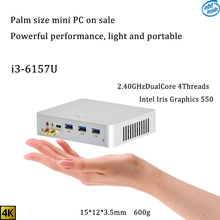 New IntelCore 6th Gen Mini PC i3 6157U Intel iris 550 win10 DualCore 4Threads 2.4G+5G+Bluetooth Nas Freeshipping  pc