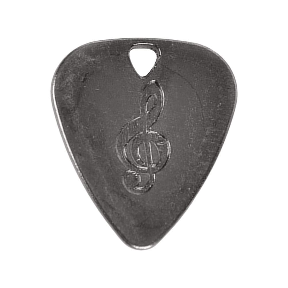 0.75 milímetros Picaretas Da Guitarra de Aço Inoxidável Picks Fingerpicks Guitarra Picaretas High-end de Liga de Zinco Acessórios de Guitarra Instrumento Musical