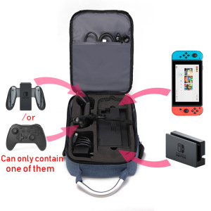 Image 2 - 7 In 1 Case for Nintendo Switch Shoulder Carrying Bag Switch Pro Controller Joy con Nintend Switch Game Accessorie Storage Bag