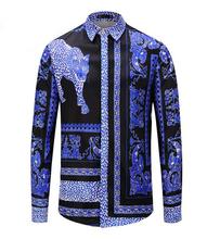Koszula męska sukienka luksusowy design bawełny z długim rękawem tanie tanio Poliester COTTON Tuxedo koszule Pełna Skręcić w dół kołnierz zipper REGULAR uu88 Suknem Hip Hop W paski Shirts