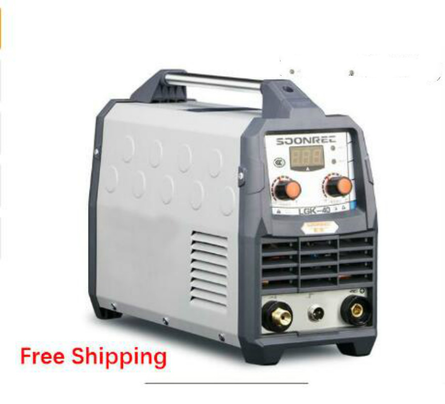 Free shipping 2019 New Plasma Cutting Machine LGK40 CUT50 220V Plasma Cutter With PT31 Free Welding Accessories