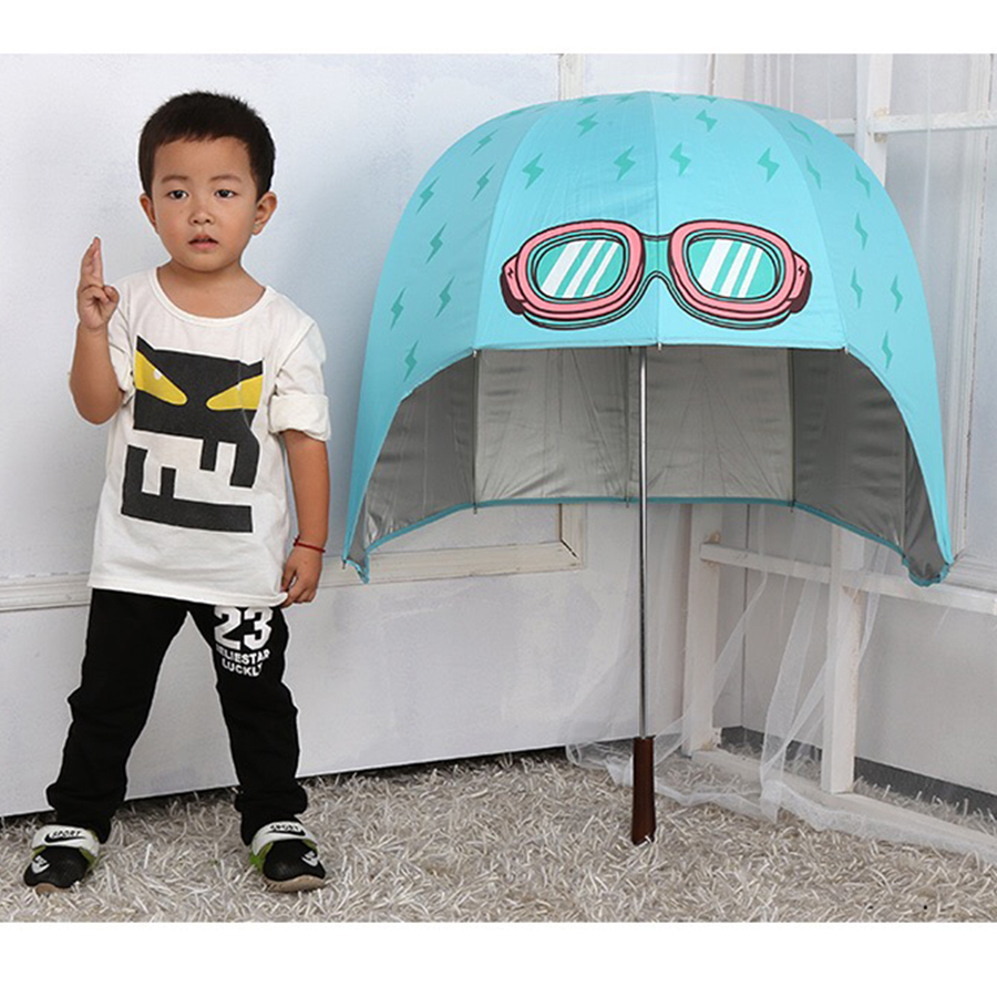 Enfants dessin animé parapluie Super manuel Durable de haute qualité imperméable parapluie tissu Regenschirm Knirps Parasol Tuin 50D0062