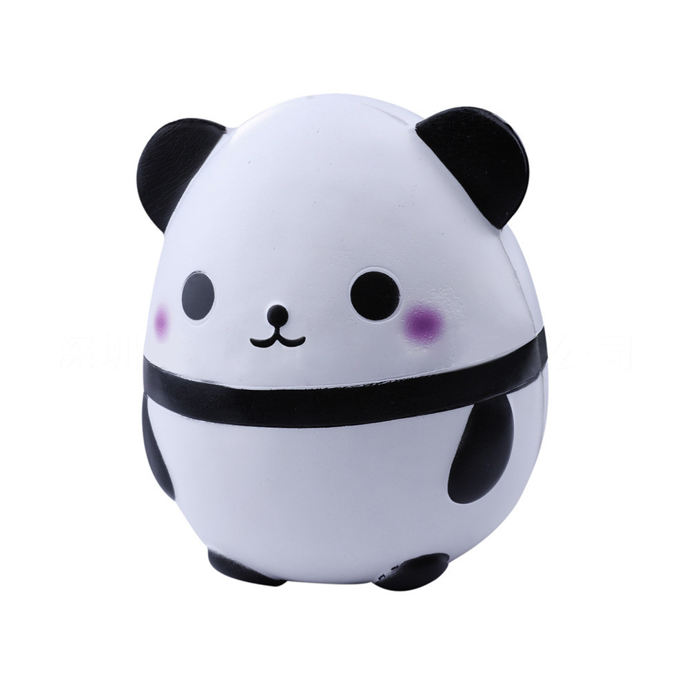 Cute Panda Slow Rising Funny Toys Doll Collection Stress Relief Toy Squeeze Kid Adult Toys Gift Mood Vent Artifact #B