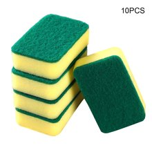 Губка для мытья посуды с высокой плотностью губка для бытовой чистки кухонная ткань для мытья посуды губка блок