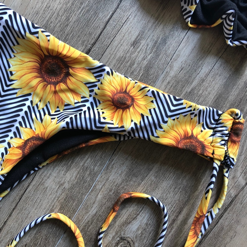 Brazilian Push Up Bandage Bikini Swimsuit 7