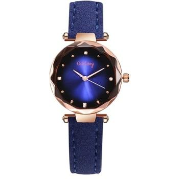 1PC blue watch