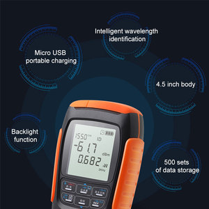 Image 5 - ONTi 4in1 Li lion Battery Optical Power Meter Visual Fault Locator Network Cable Test Optical Fiber Tester 5km 15km 30km VFL