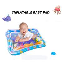 Wasser Matte Baby Aufblasbare Klopfte Pad Baby Aufblasbare Wasser Kissen Infant Spielen Matte Kleinkind Lustige Pad Spielzeug Aktivität Spielen Zentrum