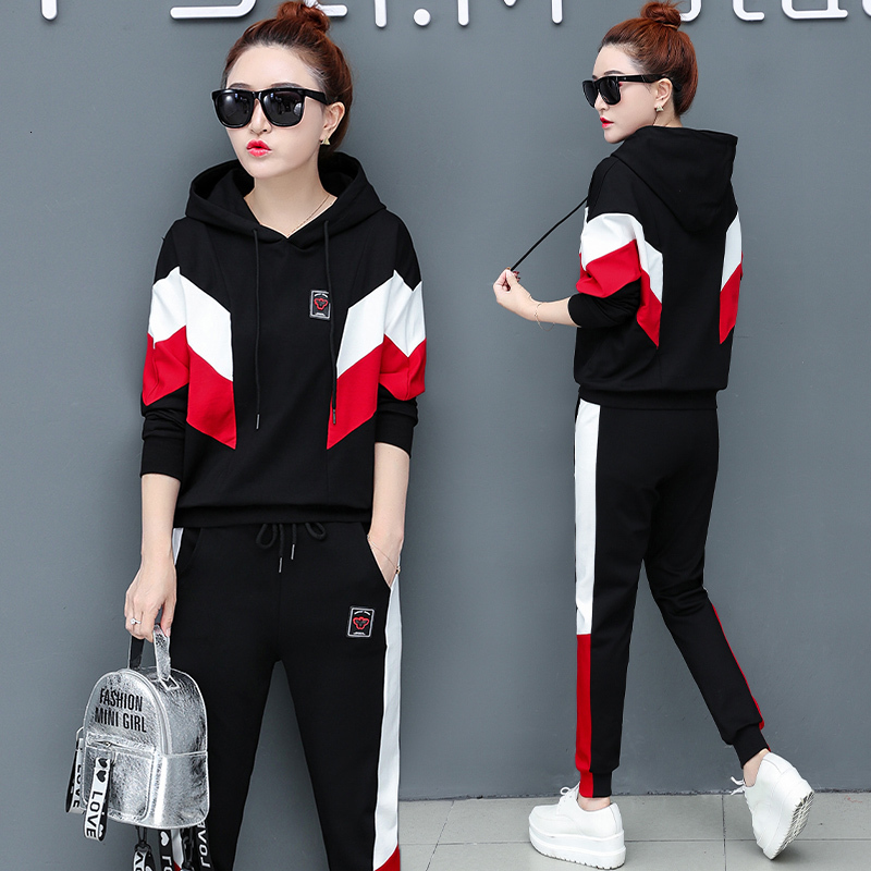 Winter Long Sleeve 2 Piece Fall Set Women Outfits Tracksuit Hoodies Top And Pant Suits Plus Size Matching Co-ord White Clothing