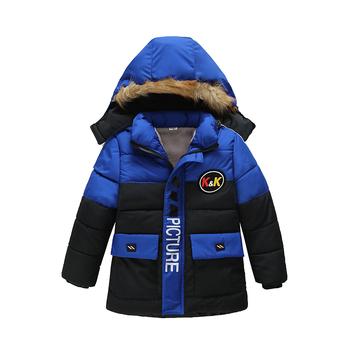 Kurtka dla chłopców 2020 jesień kurtka zimowa dla chłopców dzieci z kapturem ciepłe kurtki płaszcz dla chłopca ubrania kurtka dla dzieci 2 3 4 5 rok tanie i dobre opinie Moda Poliester COTTON Cartoon REGULAR Kurtki płaszcze Pełna Pasuje prawda na wymiar weź swój normalny rozmiar Heavyweight