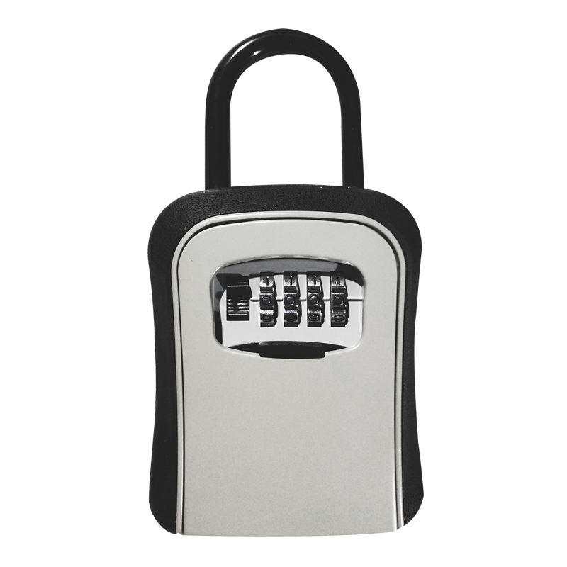 Outdoor Key Safe Box Hook Type Keys Storage Box Padlock Password Lock Alloy Steel Material Keys Security Organizer Boxes